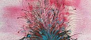 Robert Anderson Mixed Media - Bursting Boquet by Robert Anderson