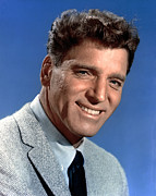1950s Portraits Prints - Burt Lancaster, 1950s Print by Everett