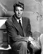 Pinstripe Suit Prints - Burt Lancaster, Warner Brothers, 1950 Print by Everett