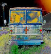 Photography Digital Art - Bus to Chattanooga by Julie Niemela