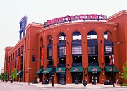 Baseball Stadiums Art - Busch Stadium 2011-1 by Kathleen Hinson