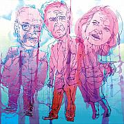 Dick Cheney Prints - Bush Administration 2008 Print by Danielle Criswell