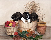 Puppies Originals - Bushel of Fun  by Nancy Patterson