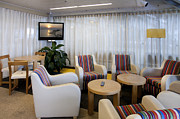 Airline Industry Photo Posters - Business Lounge at an Airport Poster by Jaak Nilson