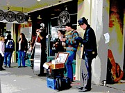 Buskers Photos - Buskers 2 by Linda Hutchins