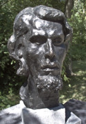 Bust Sculptures - Bust of Unknown by Michael Rutland