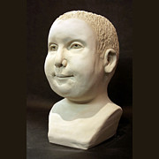 Bust Sculptures - Bust Sculpture of Given by Terri  Meyer