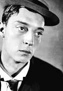 Head-shot Framed Prints - Buster Keaton, 1920s Framed Print by Everett