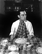 Hurrell Photo Framed Prints - Buster Keaton, Mgm, 1933, Photo Framed Print by Everett