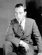 Publicity Shot Photos - Buster Keaton, Mgm, Ca. Late 1920s by Everett