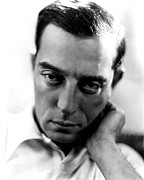 Publicity Shot Framed Prints - Buster Keaton, Mgm, Ca. Late Framed Print by Everett