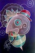 Creepy Pastels Originals - Busy Bee by Joel Quiggle
