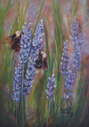 Insects Pastels - Busy Work by Debbie Harding
