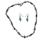 Teal Jewelry - But Not Jaded by Adele Greenfield