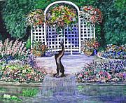 Fontain Originals - Butchart Gardens by Joy Taylor