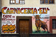 Latin America Photos - Butchers Art by James Brunker