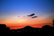 Clouds Posters Prints - Butte Montana Sunset Print by Kevin Bone