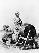 Churn Posters - Butter Churn, 1805 Poster by Granger