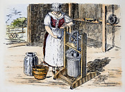 Churn Posters - Butter Churn, 1884 Poster by Granger
