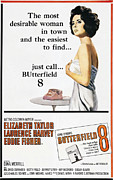 1960 Posters - Butterfield 8, Elizabeth Taylor, 1960 Poster by Everett