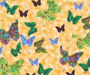 Wings Artwork Mixed Media Prints - Butterflies I Print by Alan Hogan