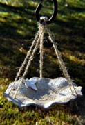 Butterfly Ceramics - Butterfly Bird Feeder Bath by Amanda  Sanford