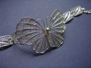Hand Made Jewelry - Butterfly bracelet by Atelje Borej