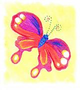 Butterfly Print by Chandelle Hazen
