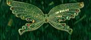 Butterfly Fascination Print by Anne-Elizabeth Whiteway