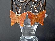 Insects Jewelry - Butterfly flare by Angie DElia