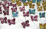 Glass Ceramics Originals - Butterfly installation by Renee Kilburn