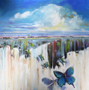 Canyon Paintings - Butterfly by Michele Hollister - for Nancy Asbell