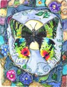 Patricia Mixed Media - Butterfly by Patricia Allingham Carlson