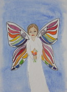 Butterfly People Sympathy Print by DJ Bates