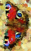 "\""great One\\\"" Digital Art Posters - Butterfly Poster by Yury Malkov"