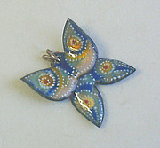 Hand Made Jewelry - Butterfly3 by Asya Ostrovsky