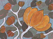 Cindy Davis Art - Butternut Squash by Cindy Davis