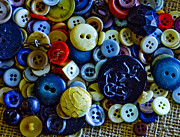 Dressmaker Posters - Buttons 1 Poster by Day Williams