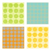 Dots Digital Art Prints - Buttons Print by Michelle Calkins