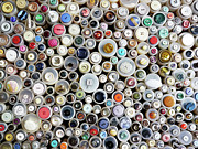 Large Group Of Objects Art - Buttons by Rolfo