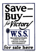 United States Government Prints - Buy For Victory Print by War Is Hell Store