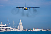 Airplane Prints - Buzzing the Crowd Print by Adam Romanowicz