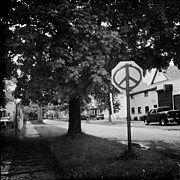 Signage Photos - #bw #blackandwhite #peace #signage #sign by Donny Bajohr