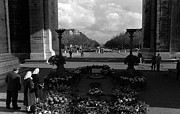 1970s Originals - BW France Paris Triumphal arch Unknown soldier 1970s by Issame Saidi