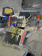 Malcolm X Mixed Media Posters - By any means Poster by Cliff Spohn