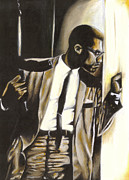 Malcolm X Prints - By Any Means Necessary Print by  LaMark Crosby