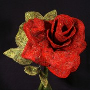 Roses Tapestries - Textiles Prints - By Any Other Name Print by Loretta Alvarado