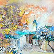 Teruel Prints - By Teruel Spain 03 Print by Miki De Goodaboom