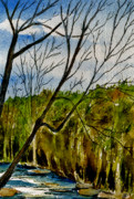 Wooded Originals - By The Brook  by Brenda Owen