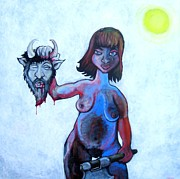 Beheading Paintings - Bye Bye Hedonism by Danny Hennesy